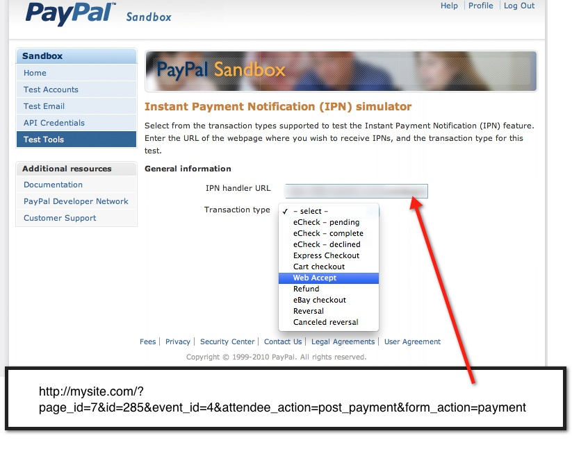 how to create paypal sandbox account for testing