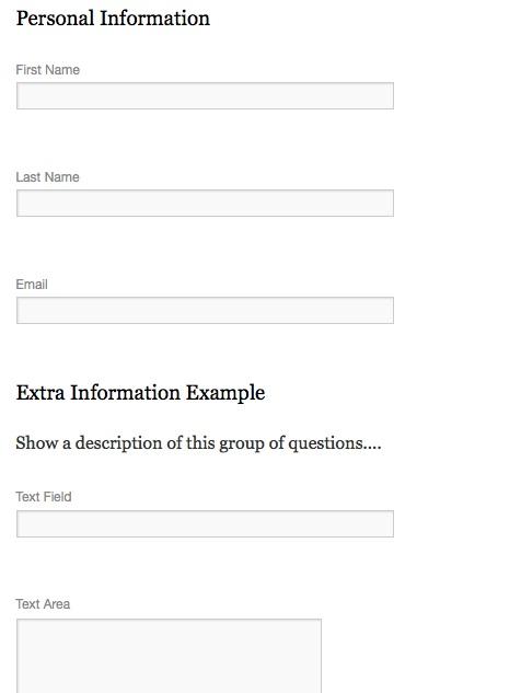 Custom Registration Forms  Event Espresso  Wordpress Event